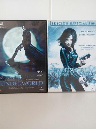 DVD 2 Películas UNDERWORLD