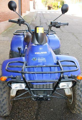 Quad 330 T4 Polaris automatico color azul