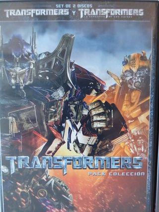 2 DVD TRANSFORMERS Pack Colección