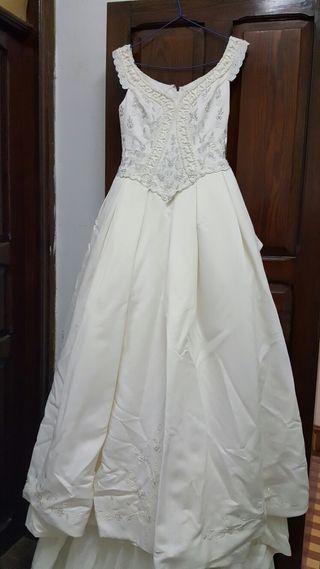 vestido de novia talla 40 de segunda mano en las palmas de gran