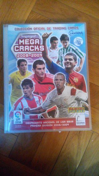 Album cromos futbol MEGACRAKS 08-09