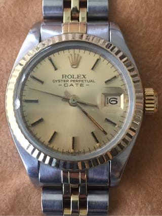 Rolex oyster perpetual date mujer
