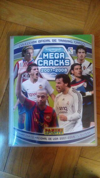 Album cromos futbol MEGACRAKS 07-08.