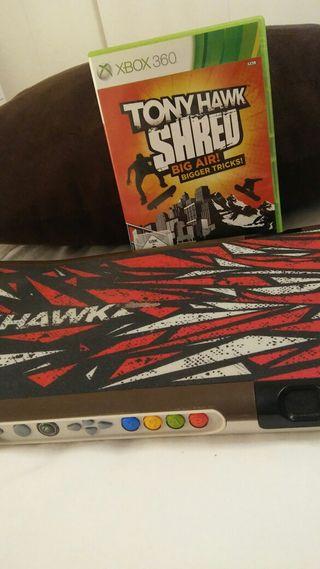 Tony Hawk SHRED BIG AIR + tabla