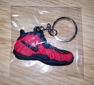 Llavero silicona Nike Jordan rojo