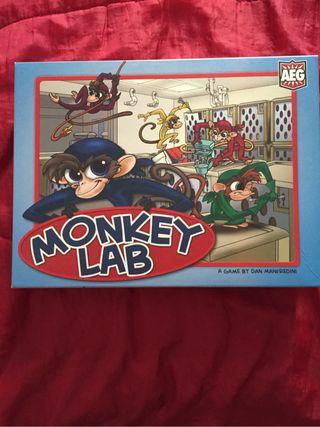Juego de mesa Monkey Lab