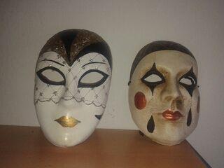 2 Máscaras venecianas