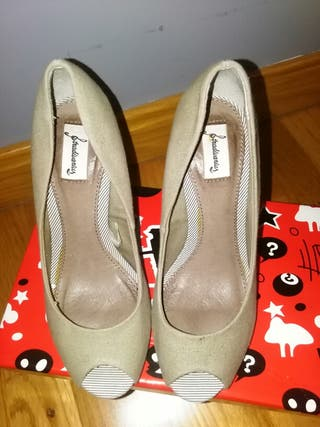 T Con Zapatos Segunda Mano 25 Por Verde Metacrilato Caza 36 De xqxgTI