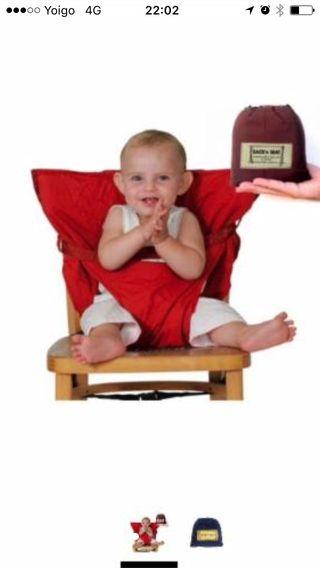 Trona portátil para niños