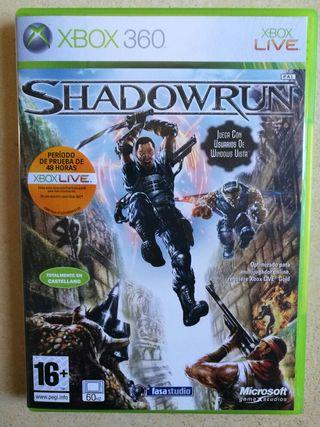 Videojuego Shadow Run Xbox 360