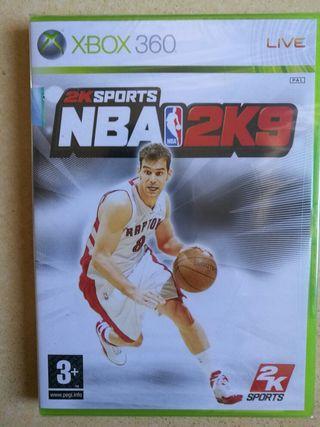 Videojuego PRECINTADO NBA 2K9 Xbox 360