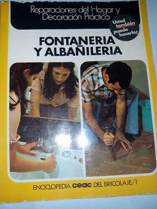 Libro fontaneria años 70