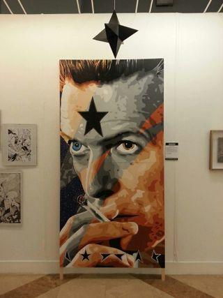 Pintura David Bowie