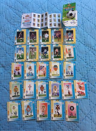 Magic Cards de Cracks de Liga Fútbol 94-95