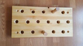 Mini peg board para escalada, crossfit..