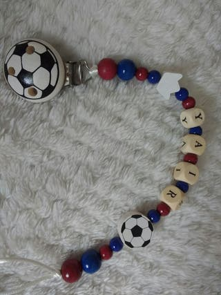 Cadena para chupete del F.C. Barcelona (Barça)