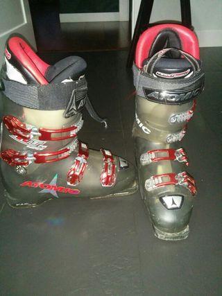 Botas de esquí.