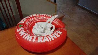 Flotador swimtrainer de 0 a 4 años.