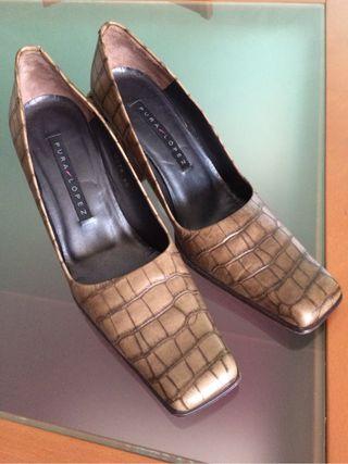 Zapato mujer (Pura López )