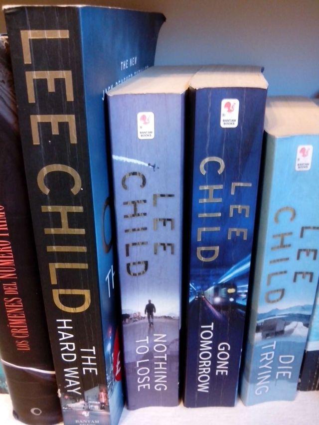 Novelas serie Jack Reacher