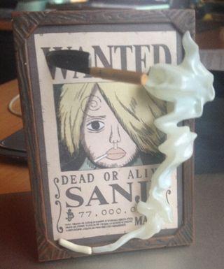 Póster recompensa Sanji One Piece