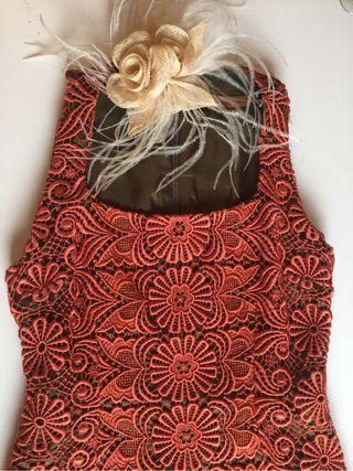 Vestido del diseñador De La CIERVA & NICOLAS