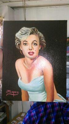 Cuadro de Marilyn