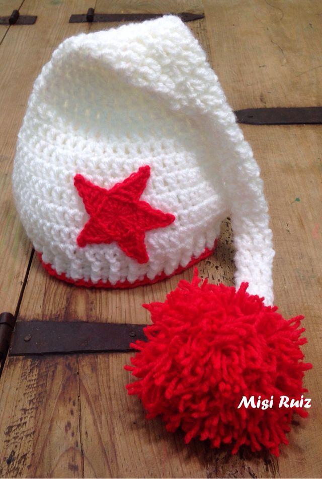 Gorro elfo duende bebe recién nacido crochet de segunda mano por 17 ... 4375c727ea3