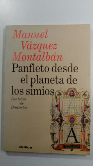 Panfleto desde el planeta de los simios.