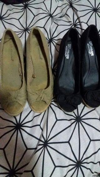 Zapato cuñas n 39