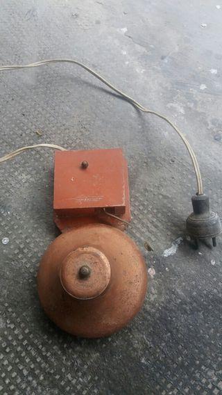 Timbre industrial antiguo electrico