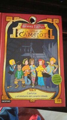 Libro: La tribu de camelot.