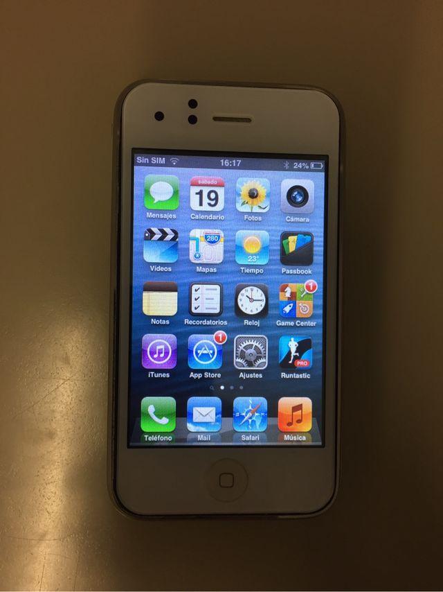 Iphone 3gs 32gb. Color blanco.