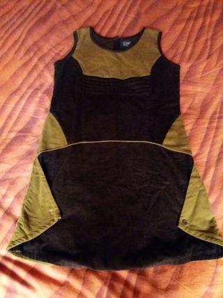 Vestido mujer de pana talla XL