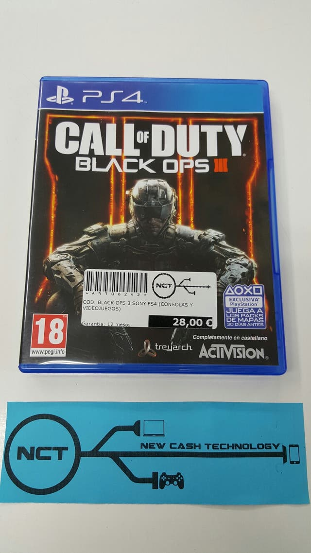 CALL OF DUTY BLACK OPS 3 PS4 IMPECABLE