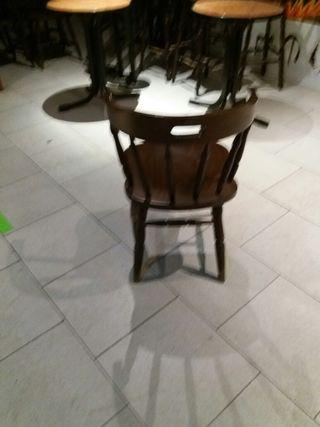 Sillas y mesas para hosteleria
