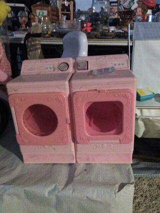 Lavadora, secadora de juguete!!
