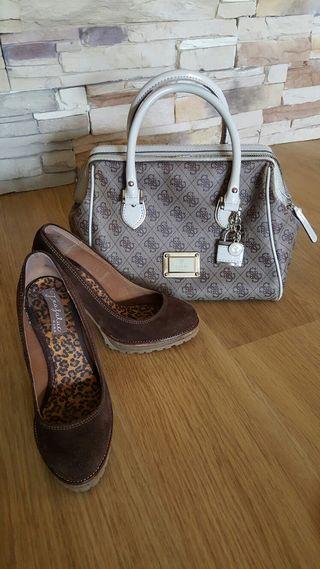Zapatos de Zara de ante