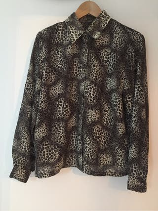Blusa leopardo M