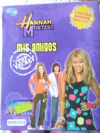 Libro + CD Hannah Montana