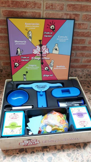 Juego educativo Big Brain