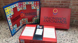 Juego educativo de Sinonimos y Antonimos