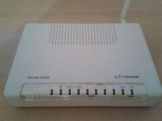 Router wifi de una sola antena