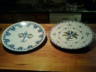Platos cerámica muel