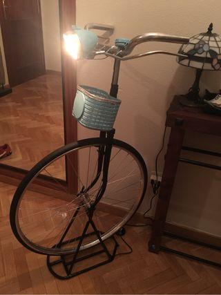 Recibidor bici retro