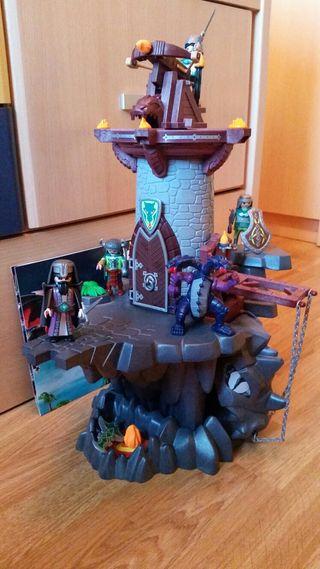Castillo del dragón playmobil