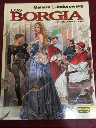 Manara, Los Borgia tomó 1, la sangre del Papa