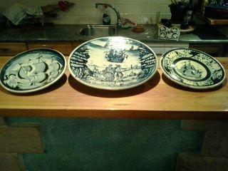 Platos antiguos ceramica