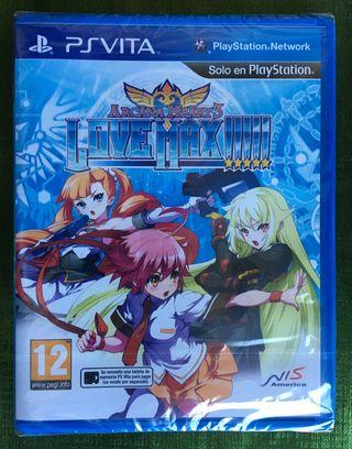 Arcana Heart3 Love Max PS Vita PRECINTADO!!!