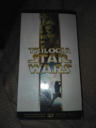 Trilogia star wars vhs masterizada